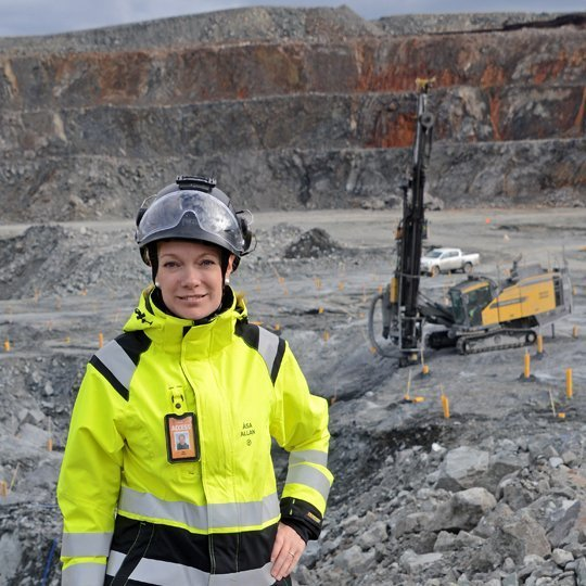 Åsa Allan, Site manager, Kaunis Iron
