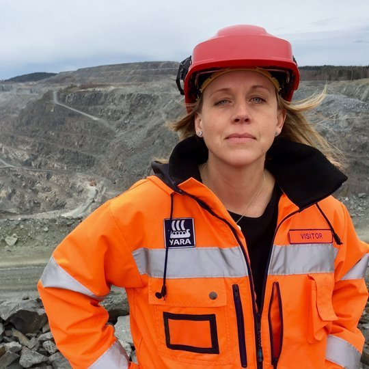 Emma Härdmark, Director of Communications, Svemin / Women in Mining Sweden