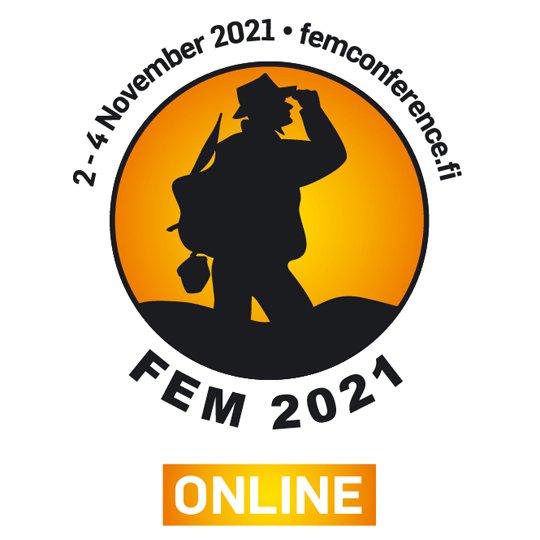 FEM 2021 Online event logo