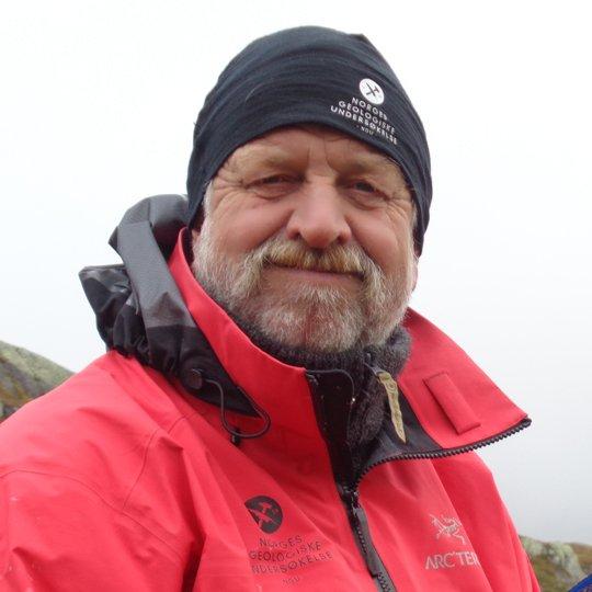 Jan Sverre Sandstad, Senior Geologist, Section for Mineral Resources, Geological Survey of Norway