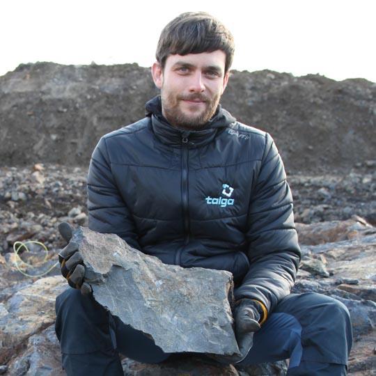 Tom Kearney, Geologist, Talga AB